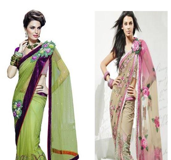 How to Make Saree Pallu Pleats