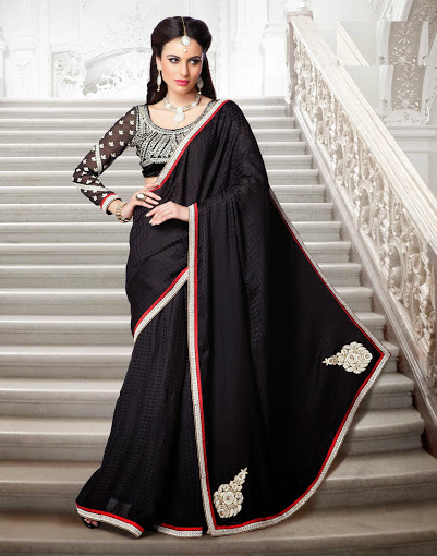 How to Wear Saree to Look Slim?