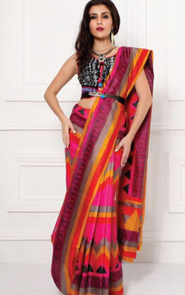 Fashion style How to saree wear pallu pleats for woman