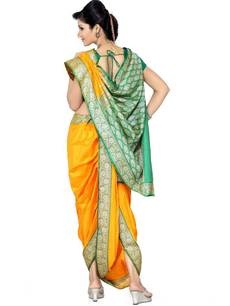 How to Wear Nauvari Saree for Lavani
