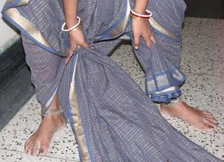 How to Wear a Nine Yard Saree