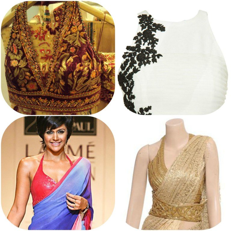 New Saree Blouse Designs