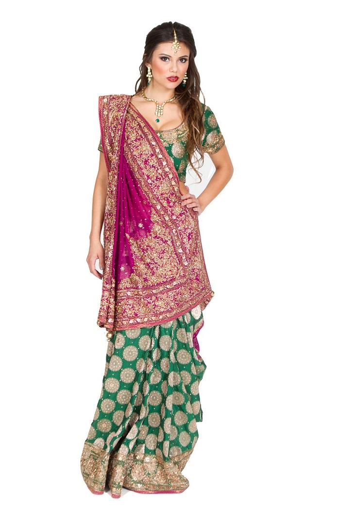 gujarati bridal saree draping styles saree guide rh saree guide Gujarati Love Letter