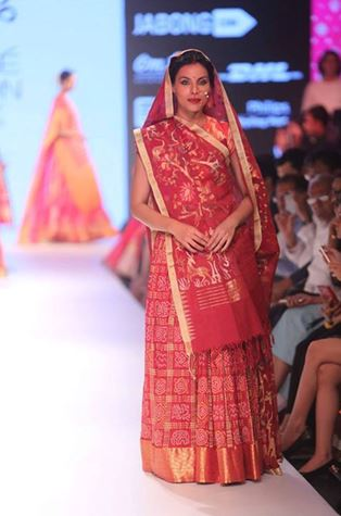 Gujarati Bandhani Saree