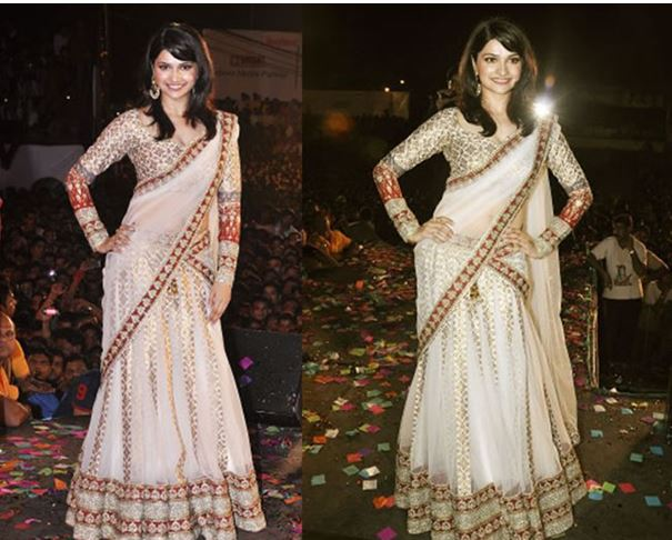 Net Saree Draping Styles