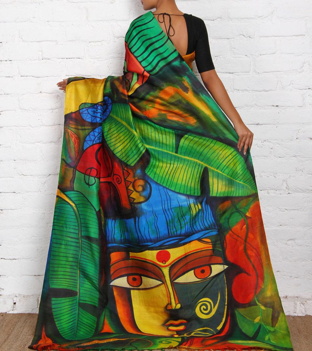 Saree Painting Guide Saree Guide