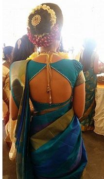 Saree Neck Designs