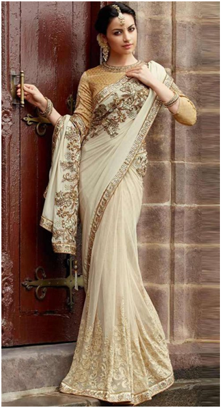 Wedding Saree for Christian Bride
