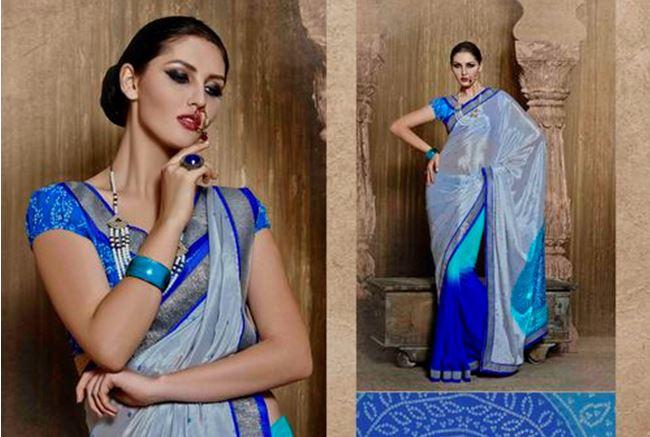 Saree Blouse Neck Designs