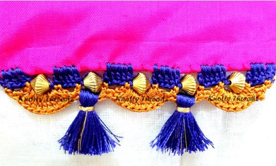 How to Make Saree Tassels
