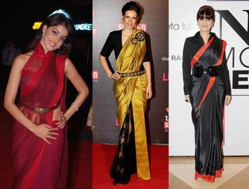 How to Wear Saree for Party