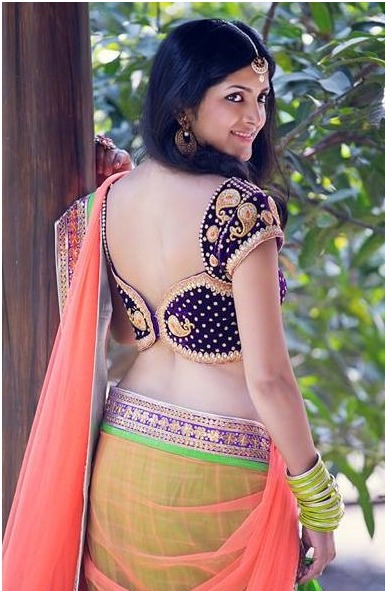 Saree Neck Designs