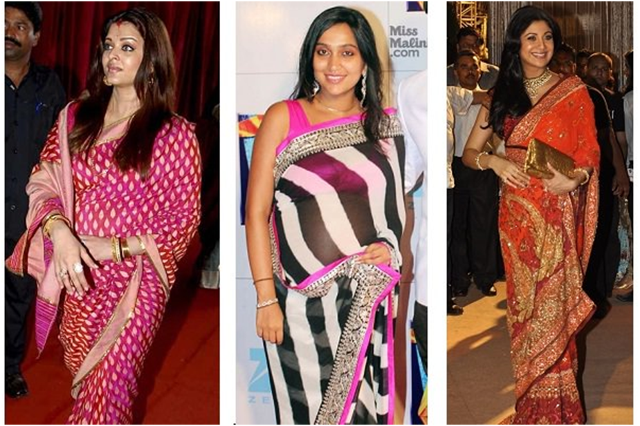 How to Wear Saree During Pregnancy