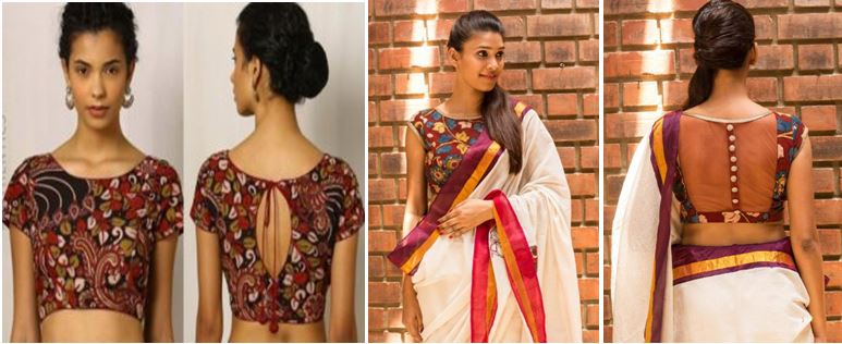 Kerala Saree Blouse Patterns