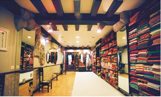 Saree Showroom Design