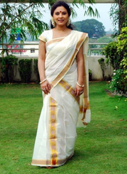 Wear Saree in South Indian Style