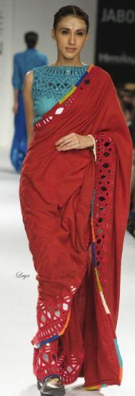 Red Saree Blouses