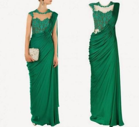 Saree-Gown-Design