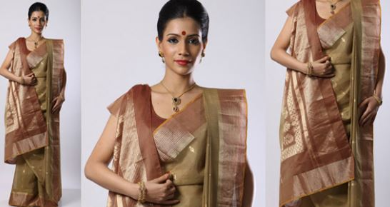 Wear Saree in Bengali Style