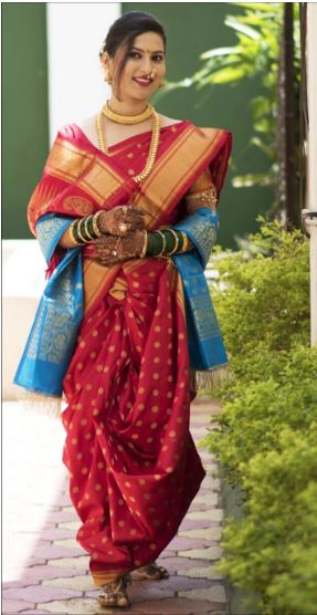 Wear Saree in Marathi Style