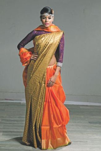 Saree Dress Up For Indian Wedding